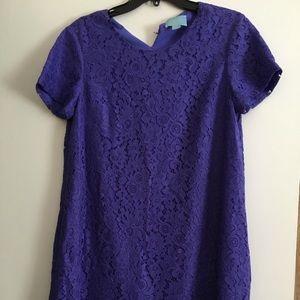 Size 8 Purple Swing Dress